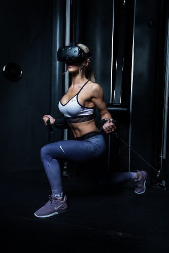 The VR system is designed for both fitness and eSports. Source: Black Box VR