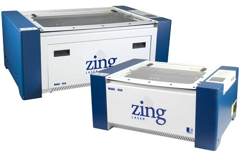 Figure 1: The Zing Series laser engraver. (Source: Epilog Laser)