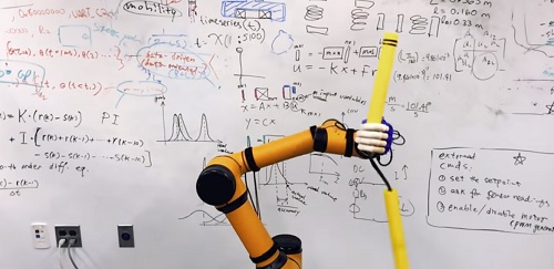 The prototype could change how industrial automation robots interact. Source: New Jersey Institute of Technology