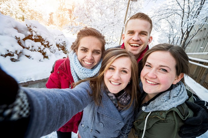 Not everyone uses photo selfies for showing off, some use it to chart their own personal history and engage in two-way communication. Source: Brigham Young University