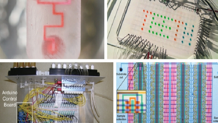 Blueprints for microfluidic parts are supplied by a new open-source website. (Source: Microfluidics.org)