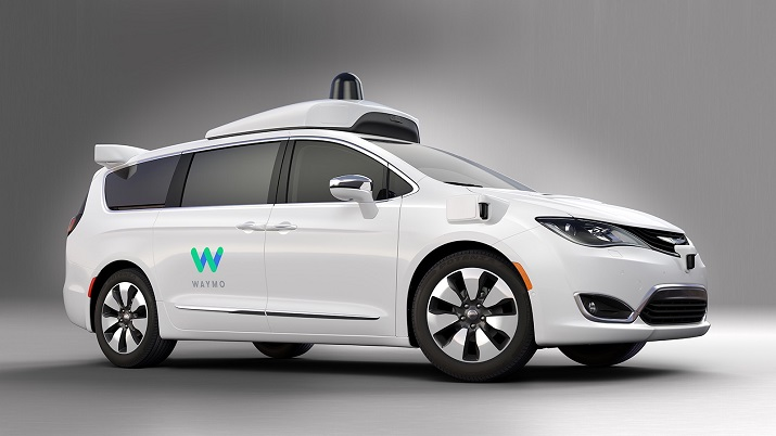 Google will begin testing self-driving minivans in its test markets in addition to its other vehicles already being tested on the road. Source: Google