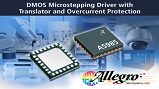 Allegro A5985 integrated bipolar stepper motor driver IC. Source: Allegro Microsystems