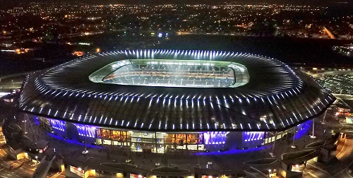 Parc Olympique Lyonnais stadium will be transitioning to LED lighting. Source: Philips Lighting